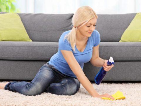 ניקוי שטיח באופן עצמאי