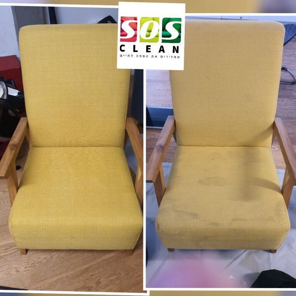 ניקוי כיסאות