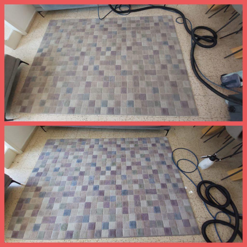 ניקוי שטיחים בבית הלקוח